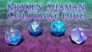 Kraken Shaman Colorway Dice
