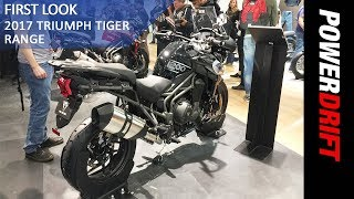 Triumph Tiger 800 XRT and 1200 XRT : EICMA 2017 : PowerDrift
