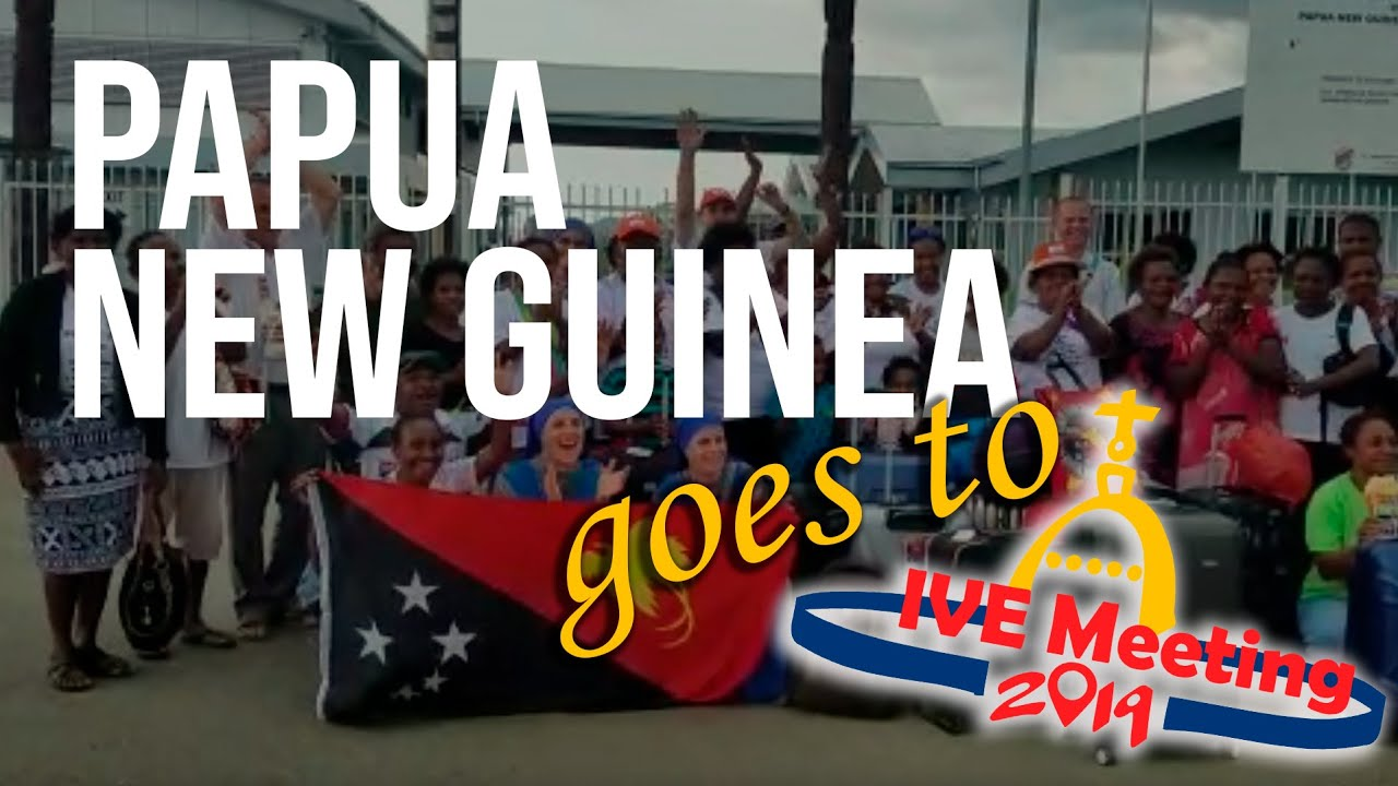 Papua New Guinea goes to IVEMeeting