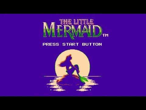 Полное прохождение (((Dendy))) Little Mermaid / Русалочка