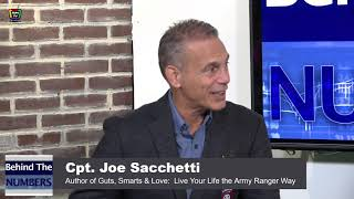 "Dave Bookbinder's ""Behind the Numbers"" with guest Captain Joe Sacchetti, Army Ranger!"