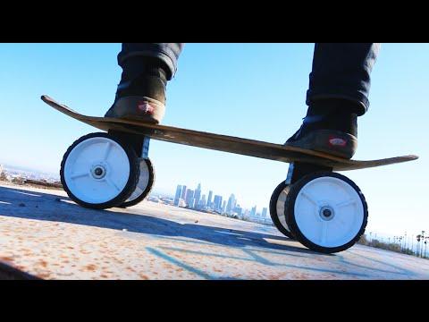 MONSTER TRUCK SKATEBOARD!