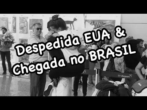 Diário de Intercâmbio USA: Despedida EUA & Chegada no BR
