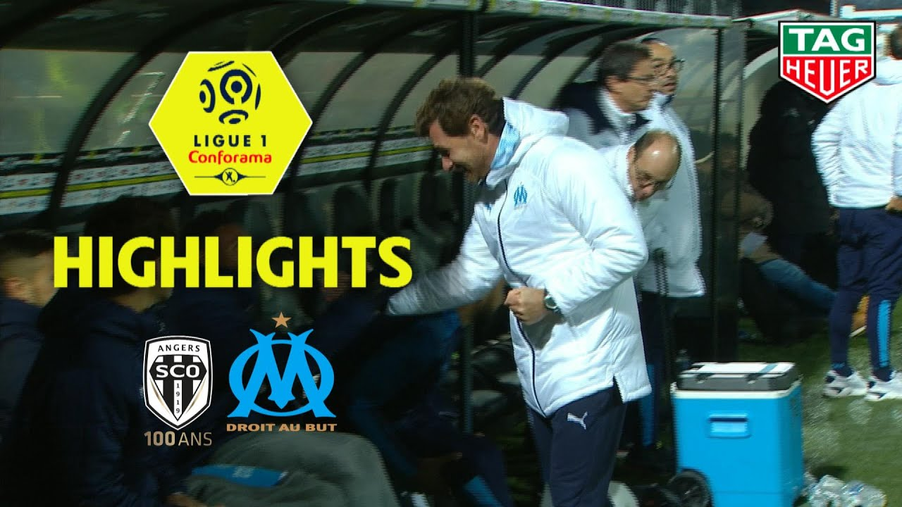 Angers Sco Olympique De Marseille 0 2 Highlights Sco Om 2019 20 Youtube