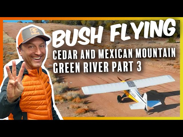 Gas Station, Mexican Mountain, and Cedar - Flying Green River pt 3