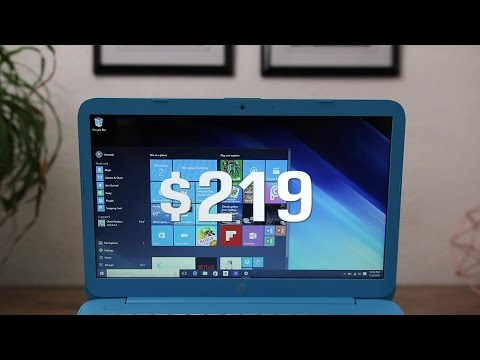 2016 HP Stream 14 - $220 Windows 10 Laptop