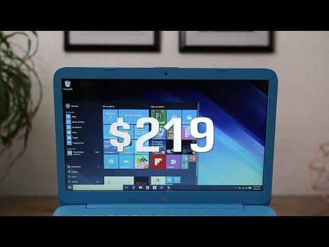 2016 HP Stream 14 - $220 Windows 10 Laptop