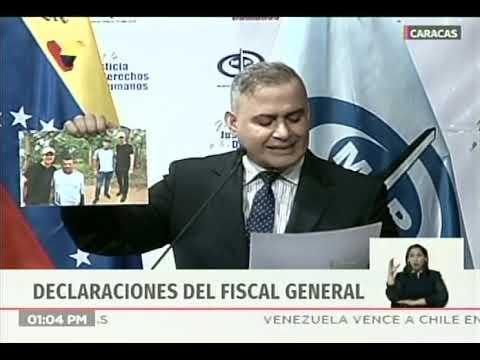 Fiscal General: Investigarán a Juan Guaidó por vínculos con Los Rastrojos