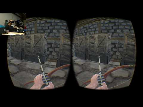 O s#!t ARK Survival Evolved in Vr (Oculus rift)
