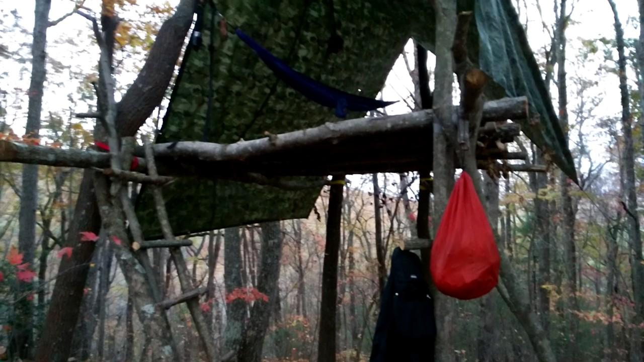safe hammock survival tree house shelter safe hammock survival tree house shelter   youtube  rh   youtube