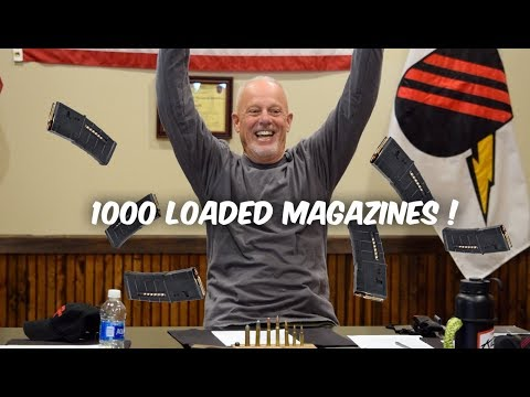 WHY YOU NEED 1000 LOADED MAGAZINES...