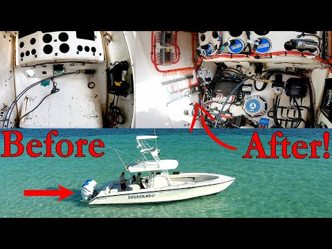 MUST SEE 34 FT Fishing Boat Restoration Project Boat Finished!!!