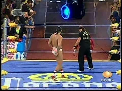 AAA: La Parka vs. Latin Lover vs. Silver King vs. Electroshock, 2009/03/15 [Rey de Reyes final]