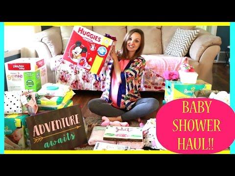 GIANT BABY SHOWER HAUL!!