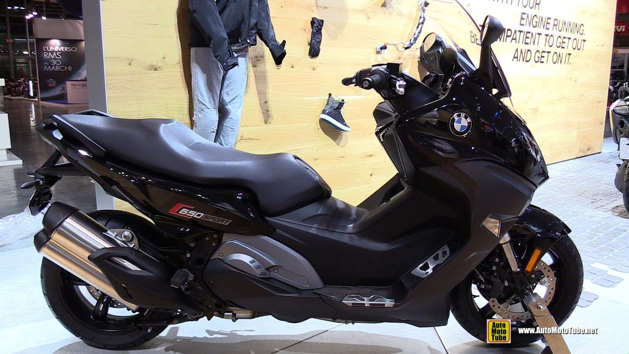 2017 bmw c650 sport walkaround 2016 eicma milan youtube. Black Bedroom Furniture Sets. Home Design Ideas