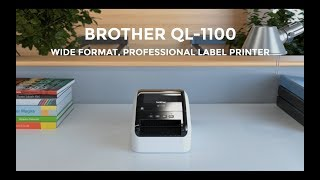 Brother QL-1100 Wide Format, Postage and Barcode Professional Thermal Label Printer with Auto-Crop