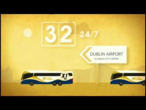 Belfast to Dublin Airport - Goldline X1 / X2