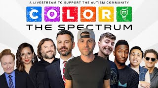 Color the Spectrum LIVE- Mark Rober and Jimmy Kimmel