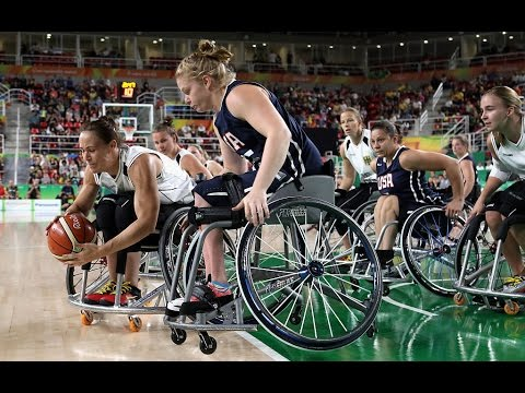Wheelchair Basketball | Germany v U.S.A | Women's Gold medal match | Rio 2016 Paralympic Games