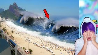 Top 10 Biggest Tsunami Caught On Camera!