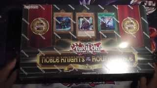 Noble Knights of the Round Table Box Set Opening TCG English (EU Edition)