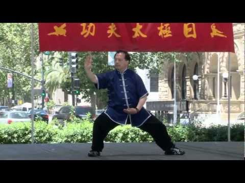 Master Bryant Fong demonstrates Sanshou Pao