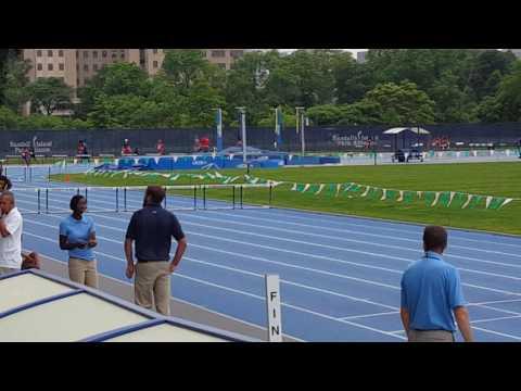 400m hurdles Icahn Stadium