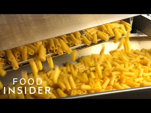 How The World's Biggest Pasta Factory Produces 1,400 Tons Of Pasta Per Day