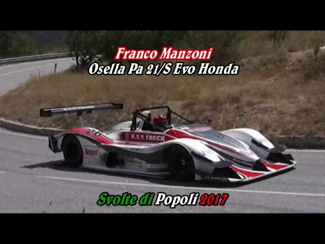 SVOLTE DI POPOLI 2017 FRANCO MANZONI OSELLA PA 21 S EVO HONDA
