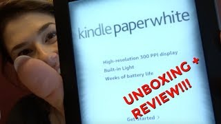 Kindle Paperwhite e-reader 2018 Review