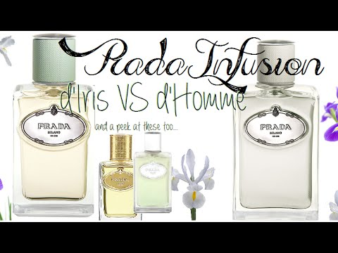 Infusion d Iris VS Infusion d Homme by Prada Review ☆ Happy Fragrance  Friday ☆ - YouTube 17d55c2a307