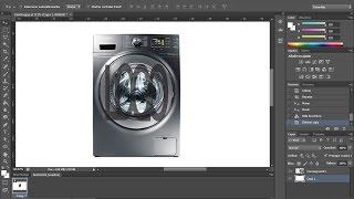 Poner marca de agua a imagen Photoshop CS6 - Tutoriales rápidos - Español