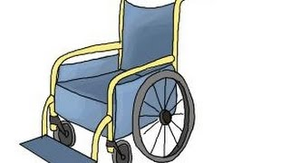 How to draw a Wheelchair
