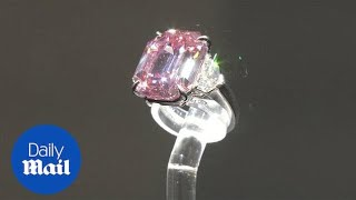 'Pink Legacy' diamond sells for record $50 million