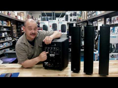expert island review of the Gemini WRX-843 Column Array powe