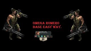 War Commander : Survivors Omega Romero Base (240) Easy Way.