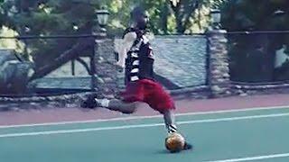 Drake Still Sucks at Sports, Breaks Lamp with Soccer Ball