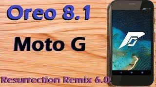 Stable Oreo 8 1 For Motorola Moto G falcon (Resurrection