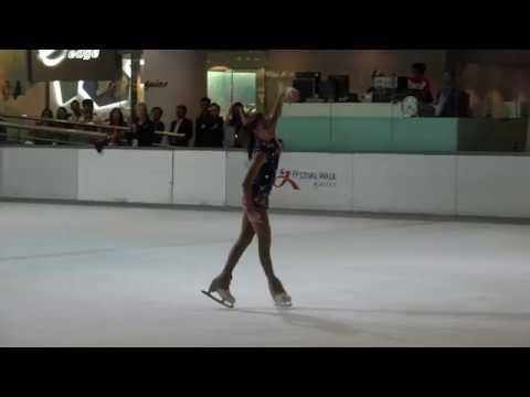 2017 Asian Junior Figure Skating Challenge HK - Elite Junior Ladies SP Kahlen