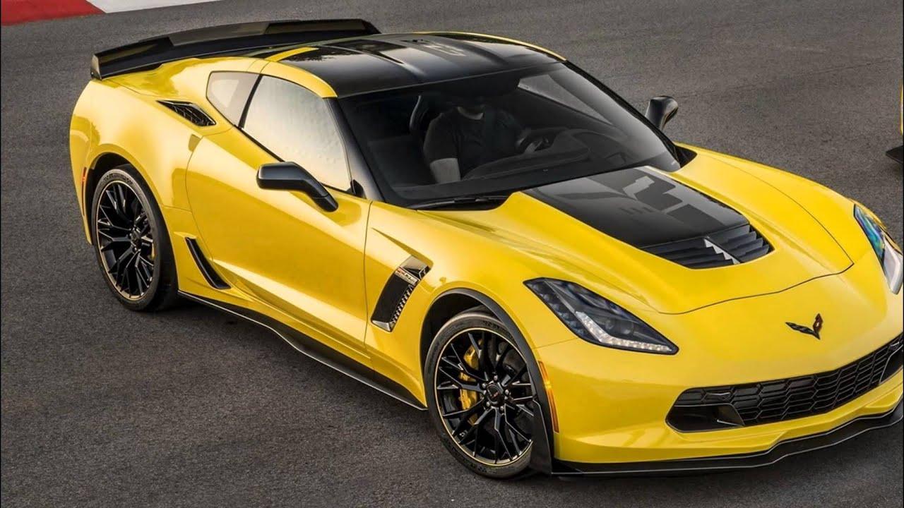 2016 Chevrolet Corvette Stingray Z06 Racing Yellow Tintcoat - YouTube