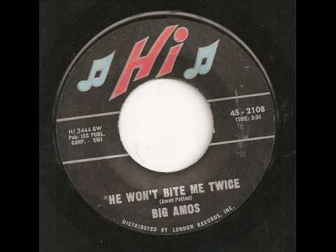BIG AMOS - HE WON'T BITE ME TWICE / MOVE WITH YOU BABY
