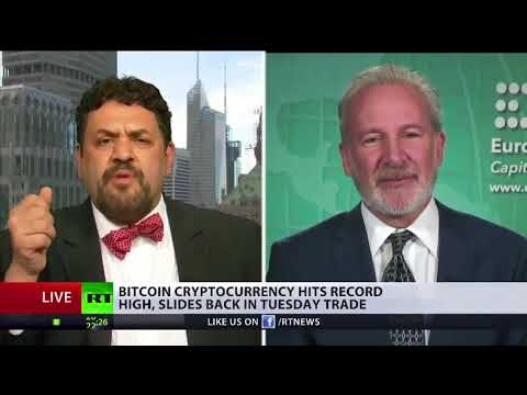 Peter Schiff Debates Nick Spanos On Bitcoin Cryptocurrency