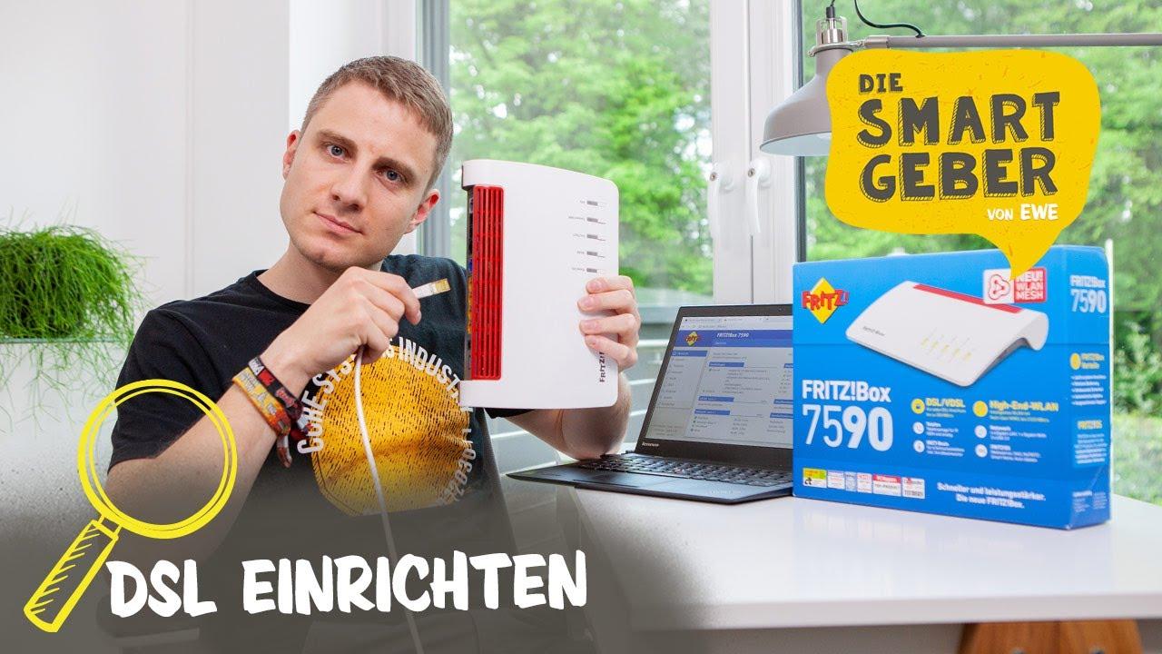 FRITZBox 20 an EWE DSL Anschluss einrichten – so geht's