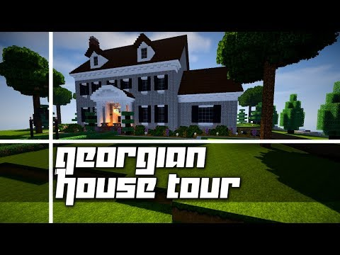 Minecraft Georgian House Tour Halloween Themed
