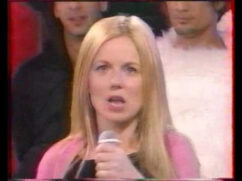 Geri Halliwell -  Look at me Live on Vivement Dimanche