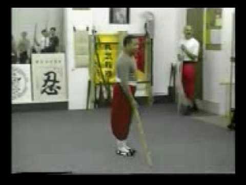 馮少青少林永春拳六點半棍(24) Shaolin weng chun Luk Dim Poon Kwan