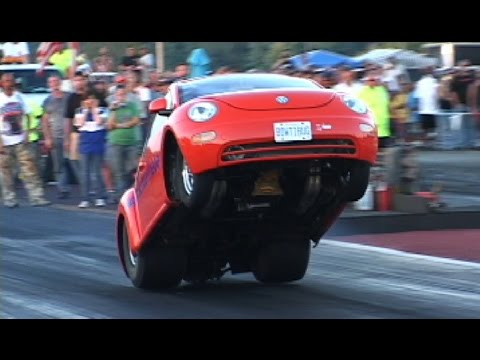 9 Sec Big Block VW Bug on Nitrous
