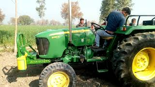 John deere 5050 D Tractor best average in 8 feet rotavotor