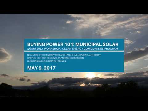 Buying Power 101 : Municipal Solar