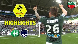 AS Saint-Etienne - Girondins de Bordeaux ( 3-0 ) - Highlights - (ASSE - GdB) / 2018-19